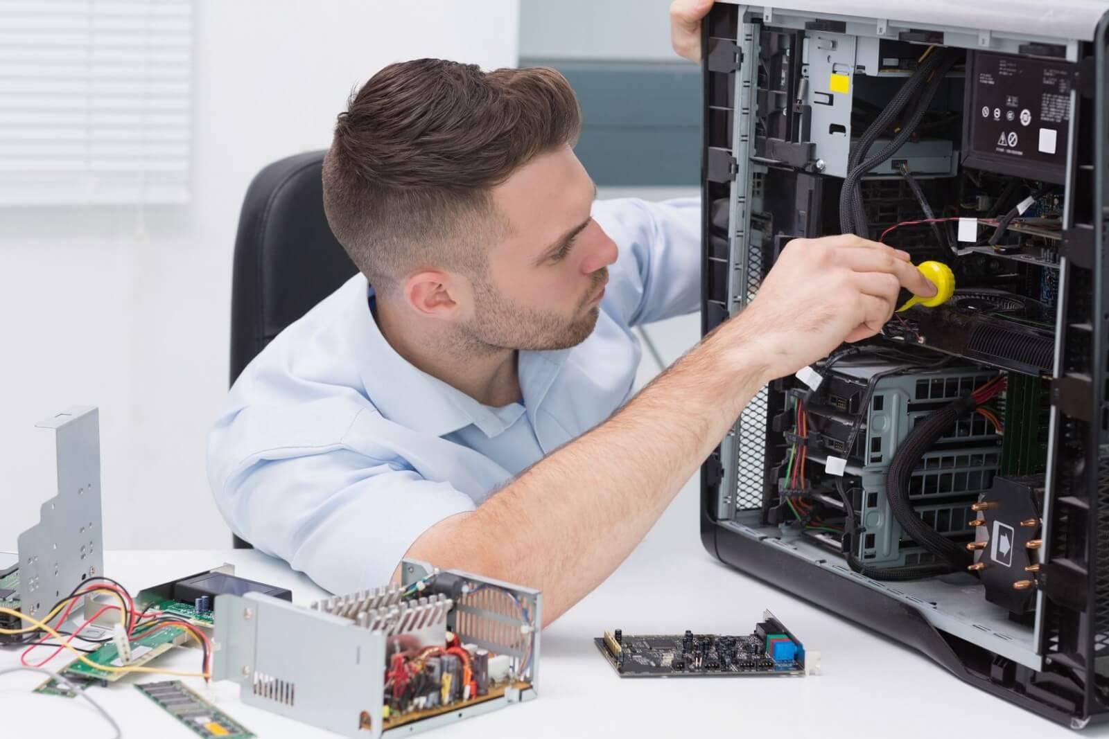 Как быстро починить компьютер