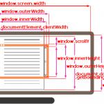 Размеры элементов и прокрутка веб-страницы