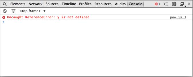 ошибки в консоли браузера