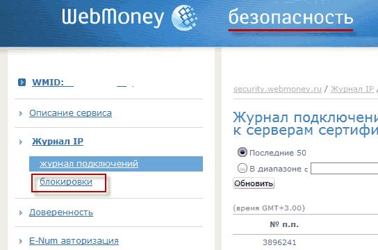 webmoney security