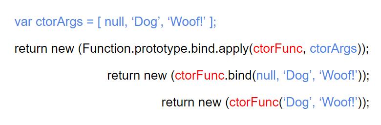 создание функциий через new Function